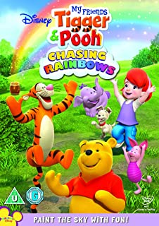 My Friends Tigger and Pooh - Chasing Rainbows   DVD   Arabic & English