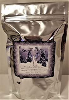 Dried Sugar Plums Montana Grown - Native to America - 12 oz bag w/a Touch of Sugar - No Additives and Artificial Colors - Your Go To Snack The Sweet Juicy Flesh is Delicious (DP-12)