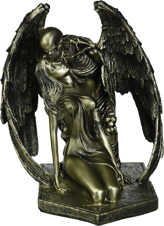 Design Toscano Kiss of Death Winged Skeleton Statue