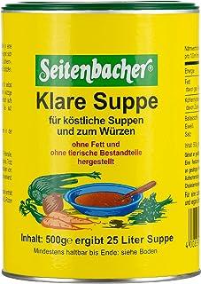 Seitenbacher Klare Suppe ohne Fett,2er Pack 2x 500 g