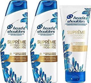 Head & Shoulders Shampoing et Après Shampoing Antipelliculaire Suprême Hydratation pour Cheveux Secs à l'Huile d'Argan...