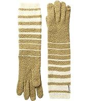 LAUREN Ralph Lauren - Boiled Wool Striped Gloves