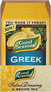 Sponsored Ad - Good Seasons Greek Salad Dressing & Recipe Mix (0.7 oz Envelopes, Pack of 24) (10043000042011)