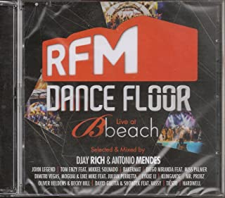 RFM Dance Floor Live At Beach [CD+DVD] 2014 [Selected & Mixed By DJAY RICH & ANTONIO MENDES]