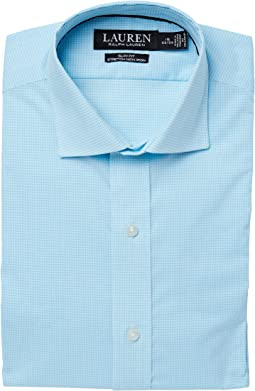 Stretch Slim Fit No-Iron Woven Dress Shirt