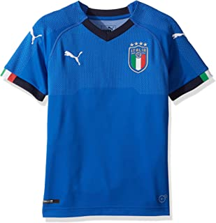 PUMA Men's FIGC Italia Kids Home Shirt Replica Jersey