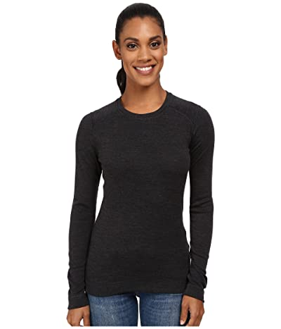 Smartwool NTS Mid 250 Crew Top (Charcoal Heather) Women