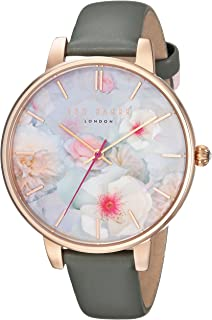 1944e6030cae Ted Baker Women s  Kate  Quartz Stainless Steel and Leather Casual Watch