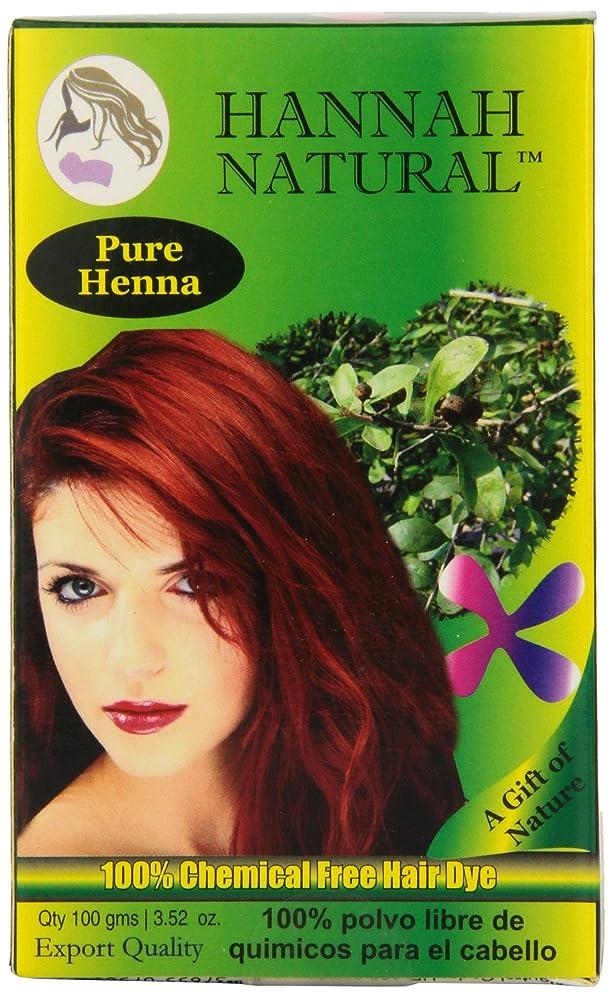 Hannah Natural 100% Pure Henna Powder, 100 Gram fpigntlrrli8413