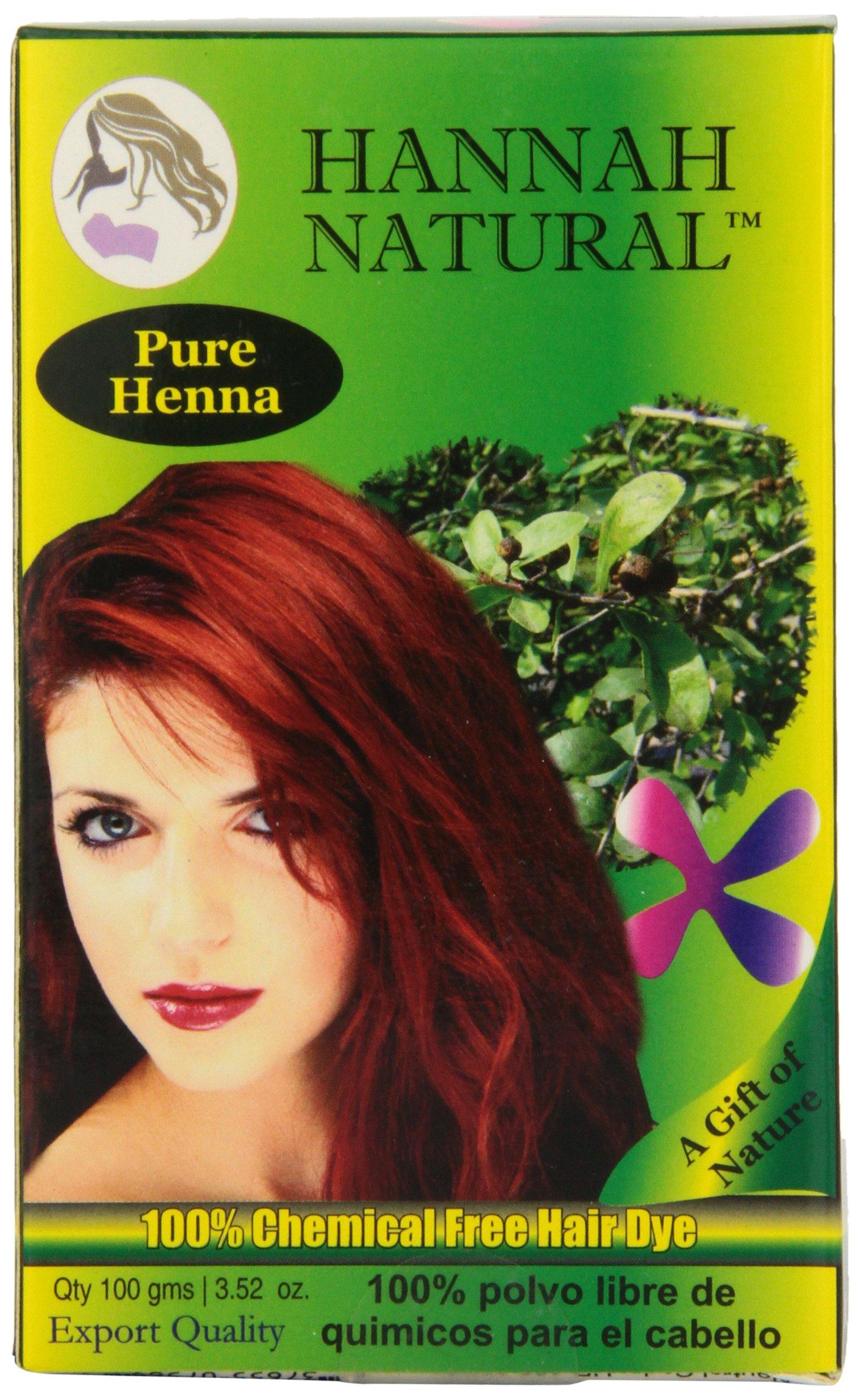 Hannah Natural 100 Henna Powder