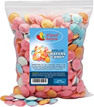 Satellite Wafers Candy, Original 1 LB Bulk Candy, Approx 350 Pieces