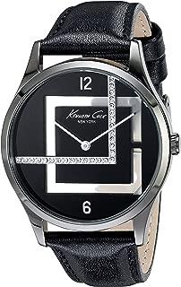 Kenneth Cole New York Women's KC2876 Transparency Analog Display Japanese Quartz Black Watch
