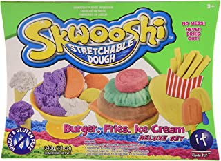Skwooshi Stretchable Dough Buger Set - Pack 2-3002112003N