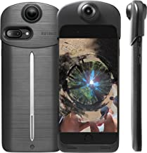 ION360 U - 4K Ultra HD 360-Degree Camera and Smartphone Charging Battery Case for Apple iPhone 7 Plus Charcoal Grey