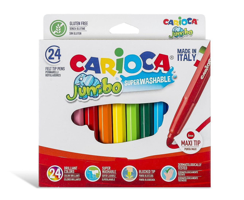 Carioca Jumbo24 Superwashable Colouring Markers