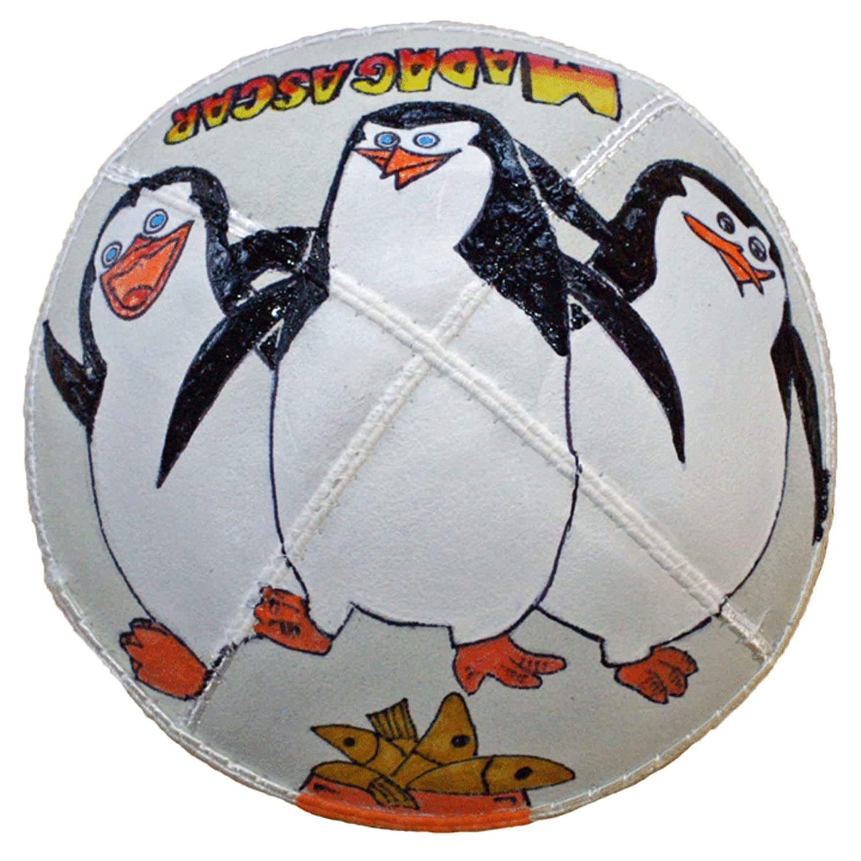 Manufacturer 5 ☆ popular OFFicial shop Hand-painted Kippah Yarmulke Madagascar with Penguins