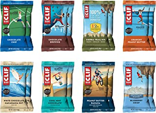 CLIF BAR - Energy Bars - Best Sellers Variety Pack - (2.4 Ounce Protein Bars, 16 Count) (Packaging May Vary)