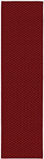 Garland Rug Medallion Area Rug, 3-Feet by 8-Feet, Chili Pepper Red