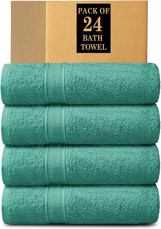 Lavish Touch 100/% Cotton 400 GSM Soho Pack of 4 Bath Mats Lemon