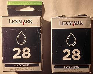 Lexmark 18C1428 28 X2500 X2550 X5070 X5320 X5410 X5495 Z845 Z1300 Z1310 Z1320 Ink Cartridge (Black) in Retail Packaging