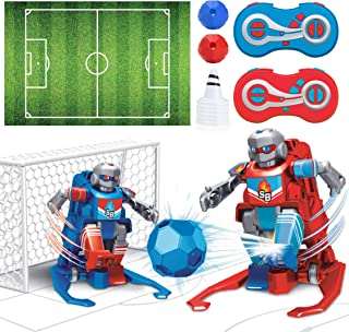 USA Toyz Soccer Bots Robot Kids Toys - Soccer Robots for Kids, RC Game with 2 Remote Control Robot Toys (Red and Blue)