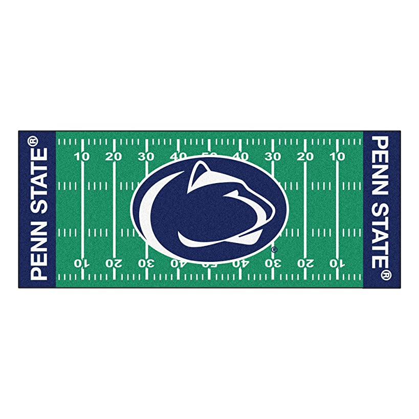 FANMATS NCAA Penn State Nittany Lions Nylon Face Football Field Runner