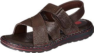 Amazon Brand - Symbol Ankle Strap AZ-KY-403 BROWN 7