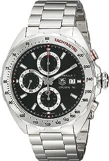 Men's CAZ2010.BA0876 Analog Display Swiss Automatic Silver Watch