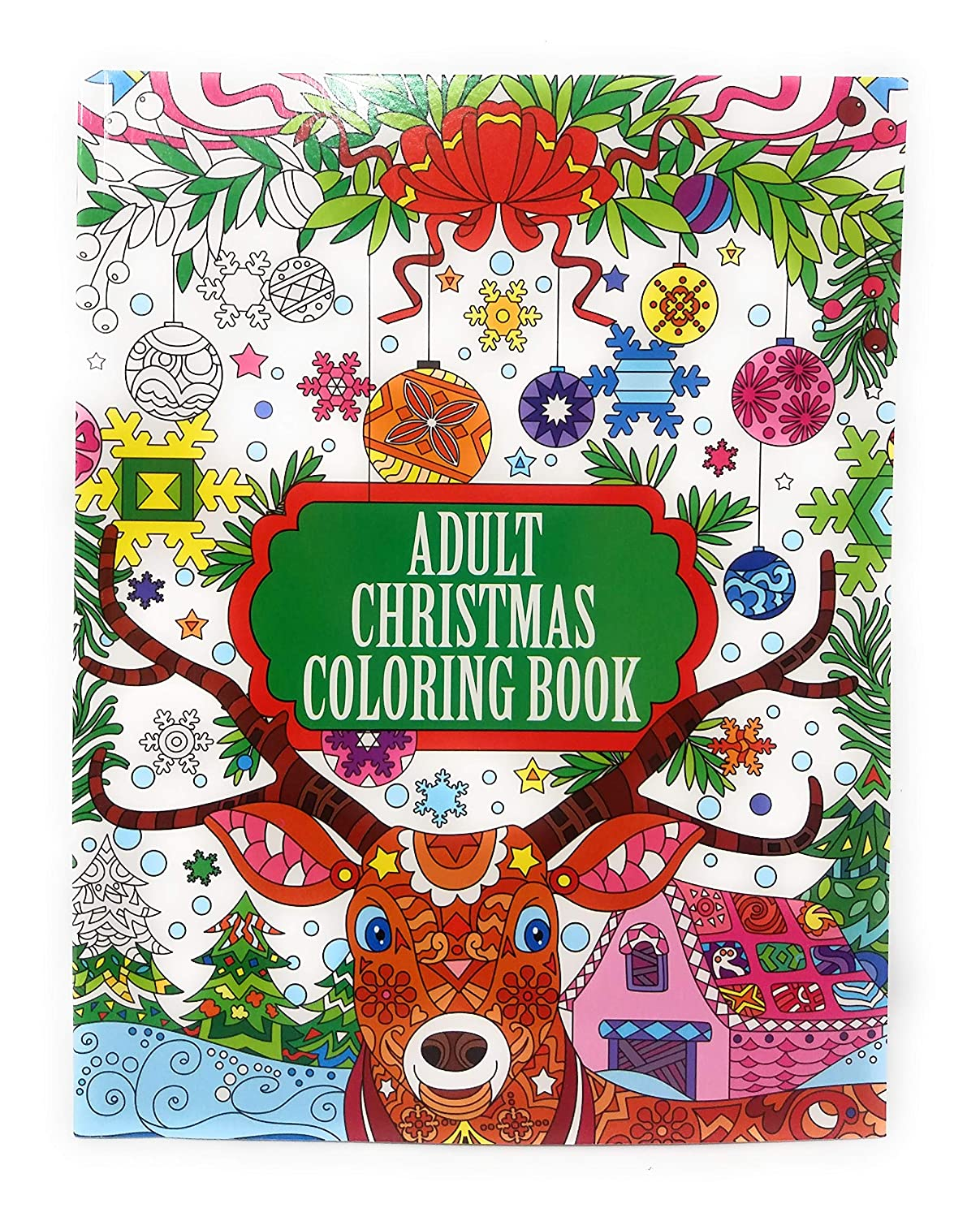 Adult Christmas Coloring Book