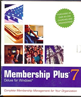 Membership Plus 7 Deluxe: Complete Membership Management for Your Organization