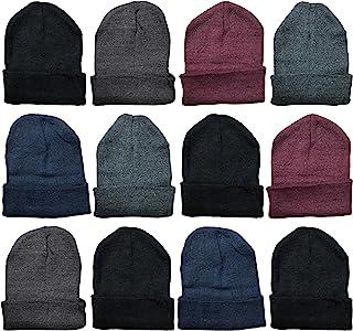 Winter Beanies Wholesale Bulk Cold Weather Unisex Hat...