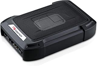 """Nakamichi NBF609A 1000W Max 6"""" X 8"""" Sealed Under Seat Car Audio Powered Subwoofer Enclosure W/ Built-In Amplifier Full Alu... photo"""