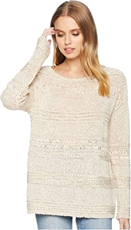 Easy Mix Stitch Pullover