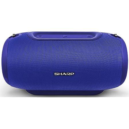 Sharp Gx Bt480 Bl Stereo Bluetooth Lautsprecher 100 Db Spl Ausgang 20 Stunden Spielzeit 3 Eq Micro Sd Staub Spritzwasser Geschützt Mikrofon Für Telefon Google Siri Blau Audio Hifi