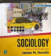Sociology: A Down-to-Earth Approach, 14th Edition, Teacher's Edition, High School Edition, c.2020, 9780135217610, 013521761X