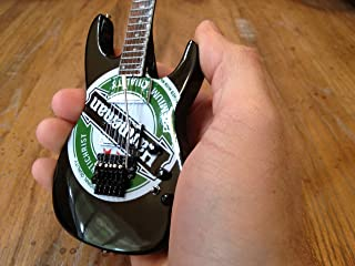 Jeff Hanneman Slayer Heineken Miniature Guitar Model