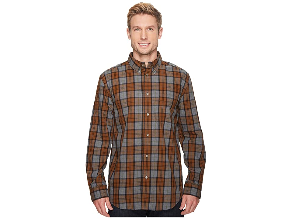 Filson Sutter Sport Shirt (Bronze/Heather Gray) Men