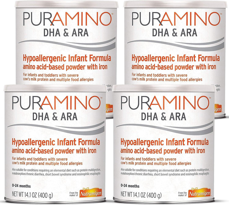 PurAmino Special sale item Junior Hypoallergenic Baby Drink for Food Severe Aller Portland Mall
