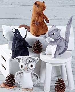 Simplicity Sewing Pattern S8969 OS- Stuffed Animals to Make: Squirrel, Skunk, Beaver, Owl