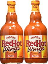 Frank's Red Hot Buffalo Wing Sauce - 2/23oz. Bottles