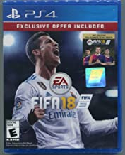 PS4 FIFA 18 Includes 500 FIFA Ultimate Team Points