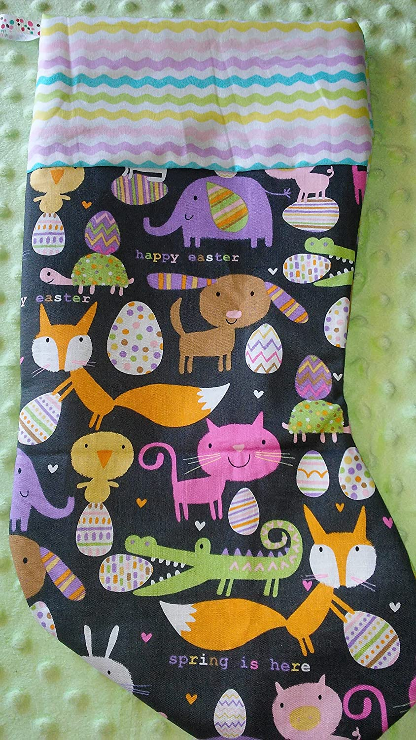 Easter Stocking Holiday Wall Decor Factory outlet Eas Finally resale start Pet Unique Gift