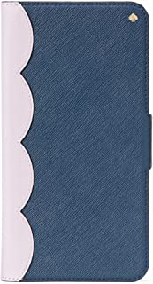 Kate Spade Scallop Colorblock iPhone XR Saffiano Leather Folio Case