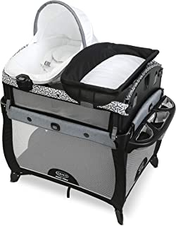 Graco Pack 'n Play Newborn2Toddler Playard | Includes Portable Napper, Raised Infant Bassinet, and Diaper Changer, Mahan