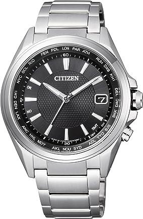 [シチズン]CITIZEN 腕時計 ATTESA アテッサ Eco-Drive エコ・ドライブ 電波時計 ダイレクトフライト 針表示式  ワールドタイム   CB1070-56E メンズ
