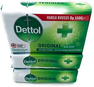 6 x Dettol ANTIBACTERIAL Original Bar Soap 110g