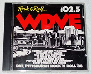 WDVE Pittsburgh Rock & Roll 1988