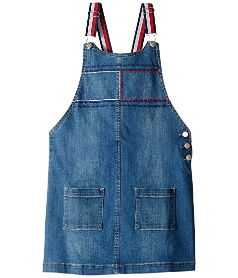 970bccaa54a4 Tommy Hilfiger Kids Denim Skirtall (Big Kids) at Zappos.com