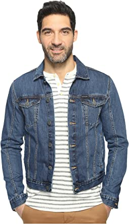 Calvin Klein Jeans Medium Wash Trucker Jacket