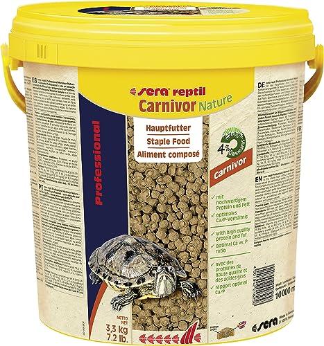 SERA Reptil Professional Carnivor Nature Nourriture pour Aquariophilie 10000 ML